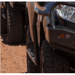 FJ CRUISER STEEL SIDE STEP & RAILS