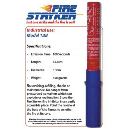 FIRESTRYKER Port Single Barrel 100 Sec 13B Blister