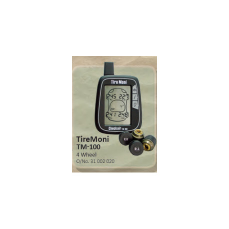 TireMoni Tyre Pressure Monitoring TM-100 4 Wheel