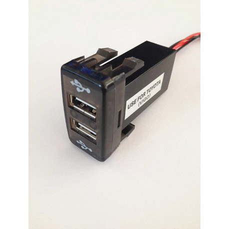 DUAL USB CHARGER (Hilux)
