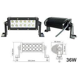 LED Light Bars 36w