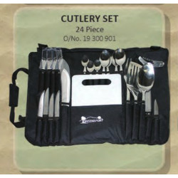 Cutlery Kit 24Pc 4 Person Camp_Greensport