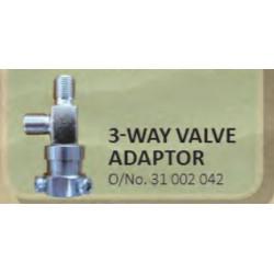 3-Way Valve Adaptor