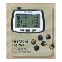 TireMoni Tyre Pressure Monitoring TM-260 6 Wheel
