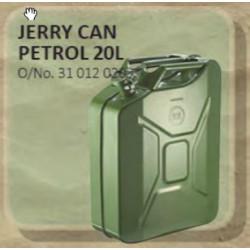 Jerry Can Metal 20L Green (Petrol)